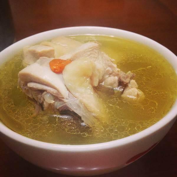 栗子山药鸡汤