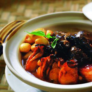 海参炖豌豆