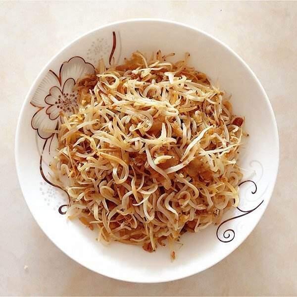 豇豆粒炒银鱼