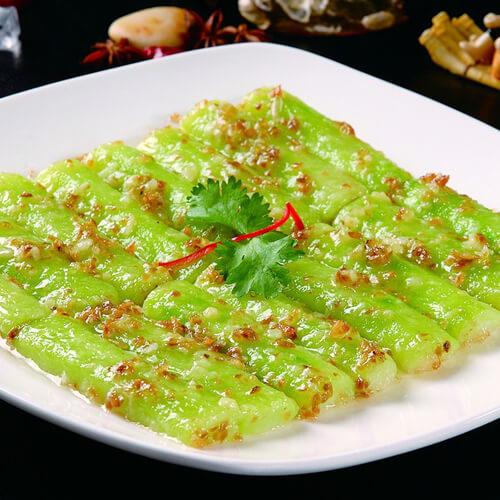 鲜甜的花蛤蒸丝瓜