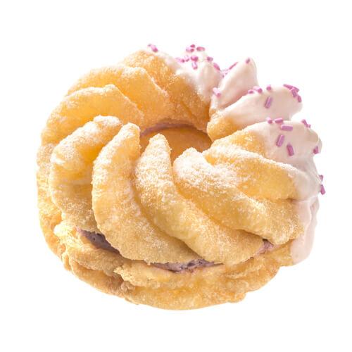 美味的甜甜圈泡芙