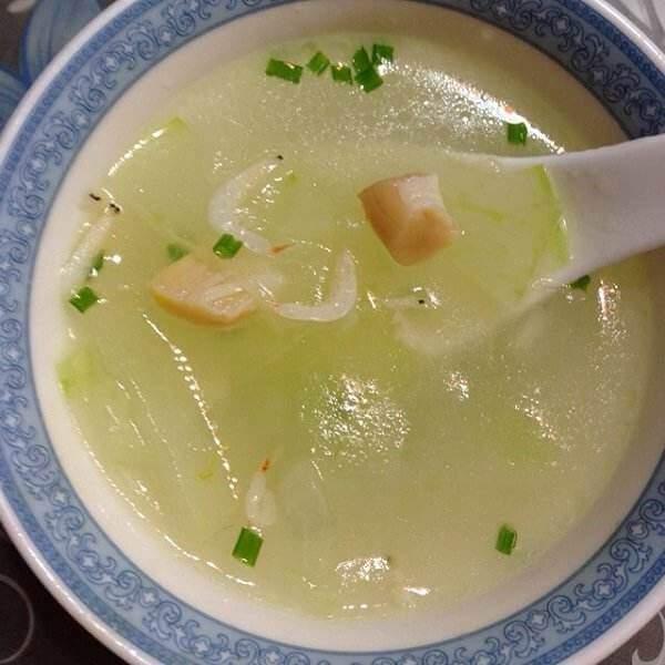 虾皮冬瓜排骨汤