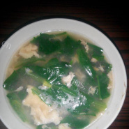 生菠鸡蛋汤