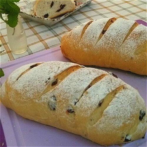 老面甜面包