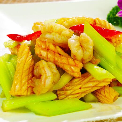 虾仁炒杂蔬