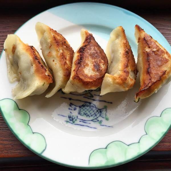 生煎冻饺子