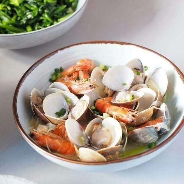 鲜美的清水花蛤