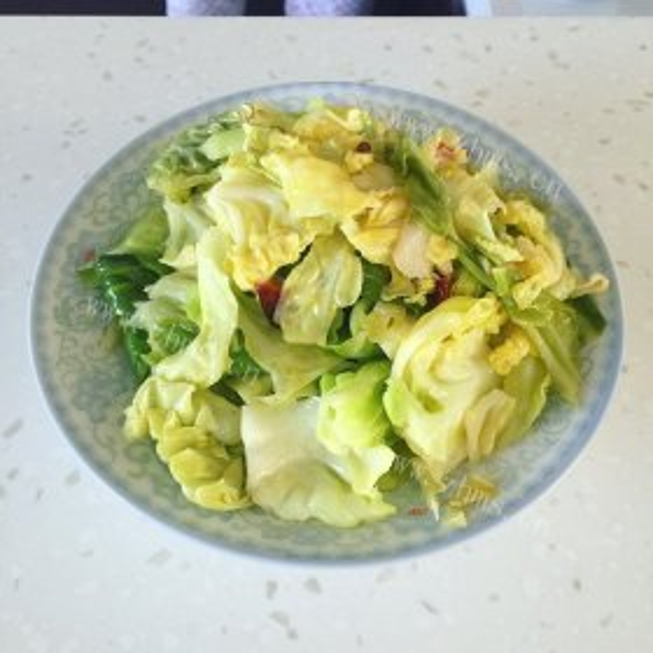 蚝油肉丝炒圆白菜
