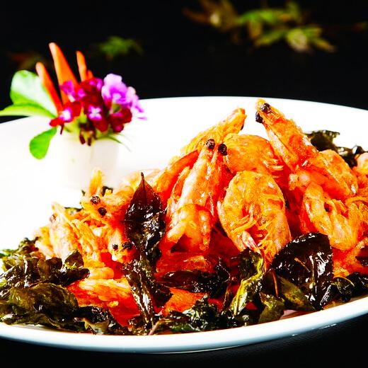 简单易做的茶香虾