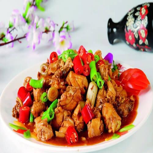 青椒小炒鸡