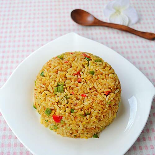 豉香海米蛋炒饭