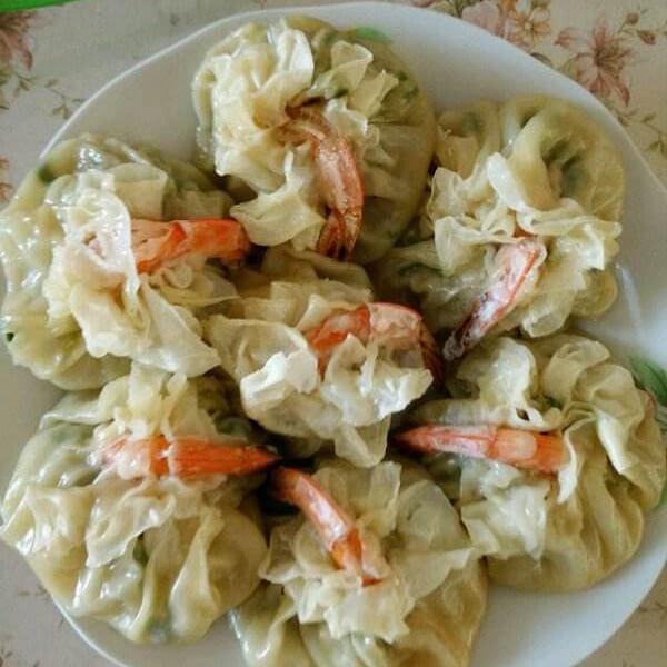 鲜虾猪肉韭菜烧麦
