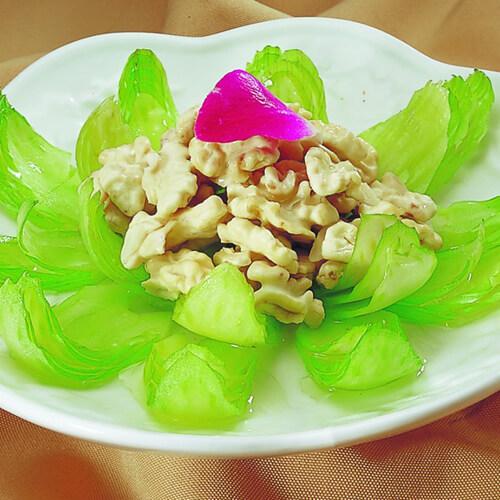 清炒花片胡萝卜炒莴笋
