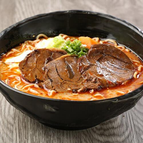 美味竹荪蛋卤牛腱面