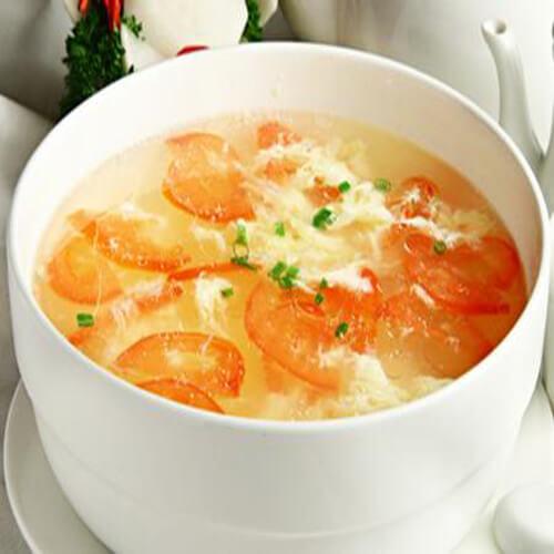 西红柿瘦肉面糊汤
