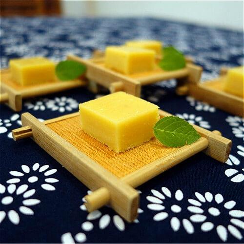 可口的【手工美食】豌豆黄