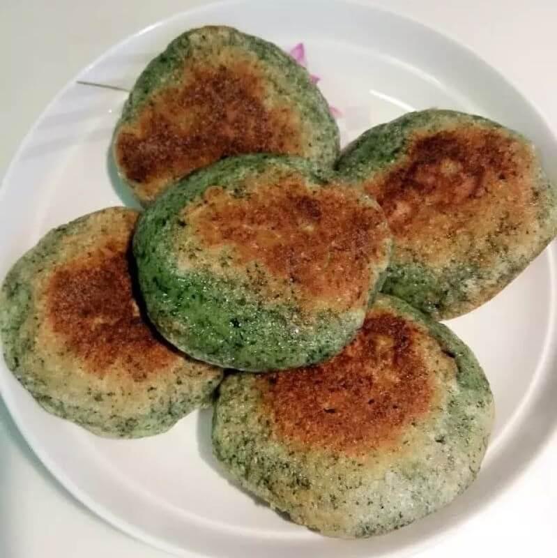 藿香土豆饼