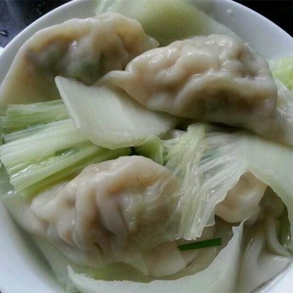白菜平菇饺