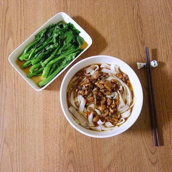 黄豆咸菜丝