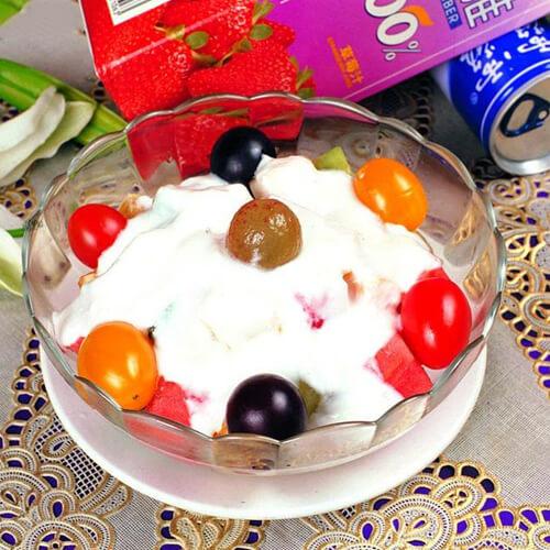 健康美食之水果酸奶