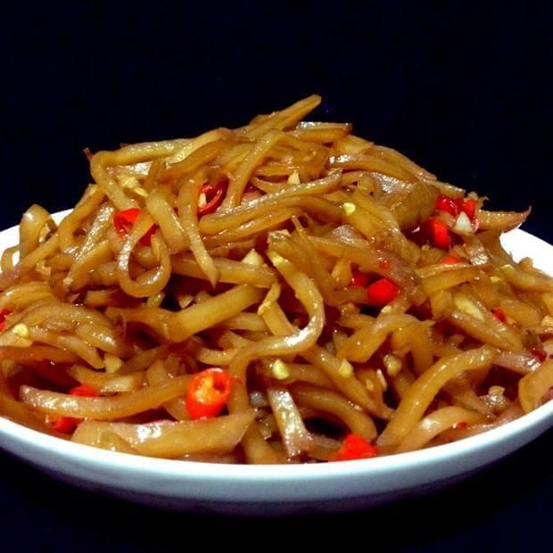 自制苜蓿咸菜