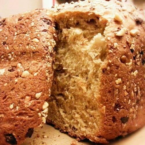 全麦杂粮红薯面包