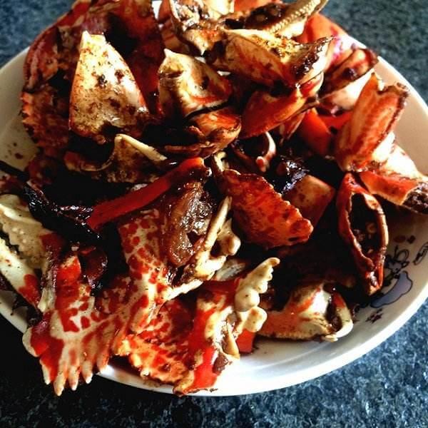 香辣锁子蟹