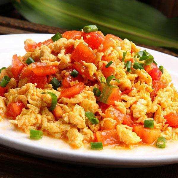 薯条西红柿炒蛋