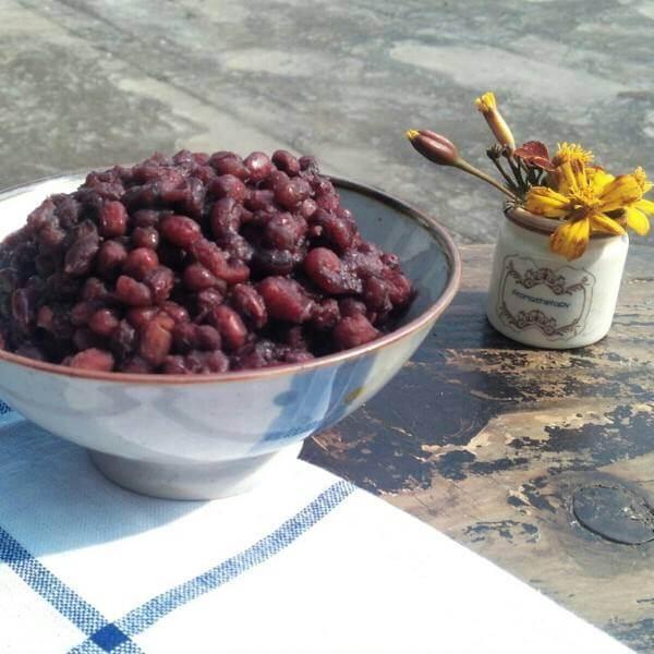 简易蜜红豆