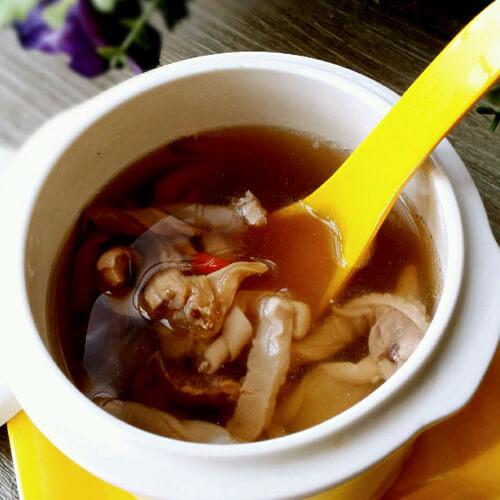 DIY猪骨墨鱼汤
