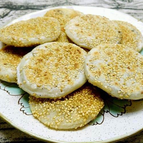 易做的油煎糯米饼