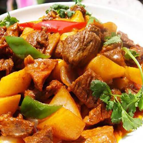 美味咖喱土豆烧牛肉