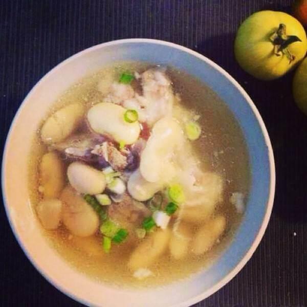 胡萝卜土豆黄豆汤