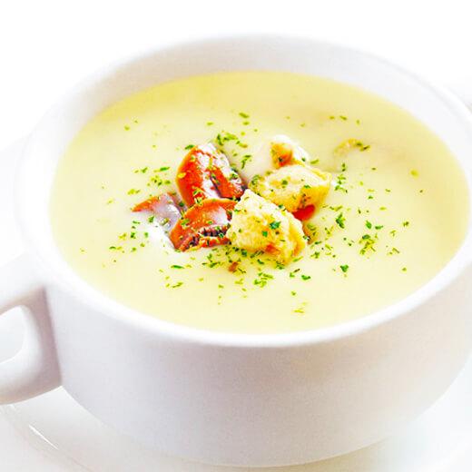 鸡血豆腐蘑菇汤