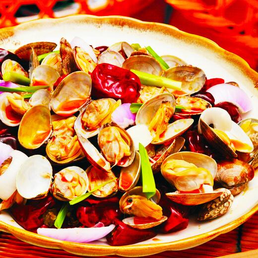 【手工美食】蛤蜊肉烧