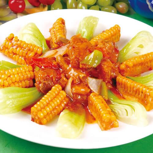 营养玉米烧排