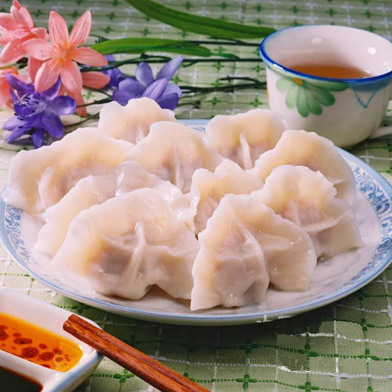 梅干菜猪肉饺