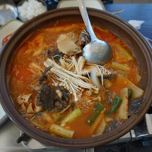 奇亚籽辣鱼汤