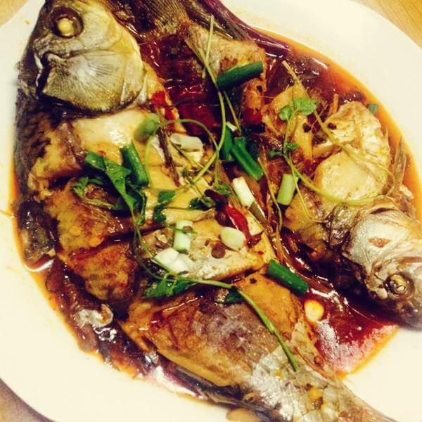蒜烧黄花鱼