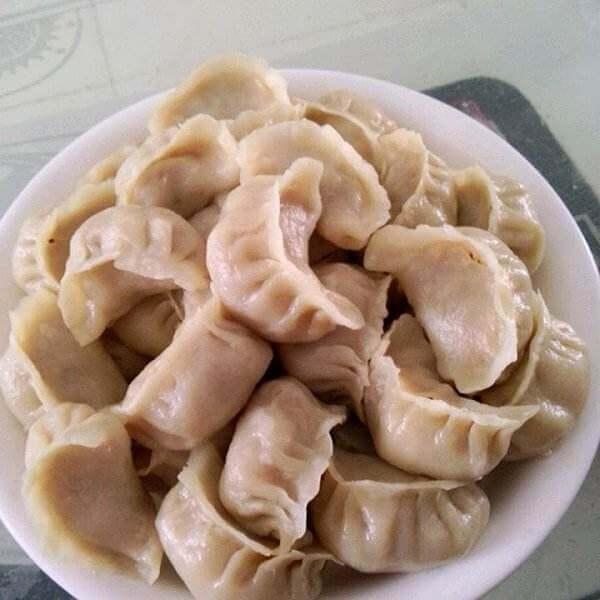 猪肉胡萝卜洋葱蒸饺