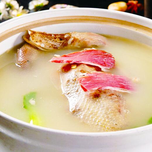 笋干菌菇汤