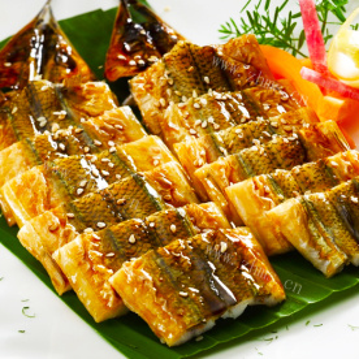 蚝油秋刀鱼