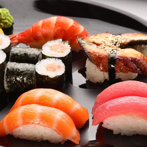 好吃的火龙果皮寿司