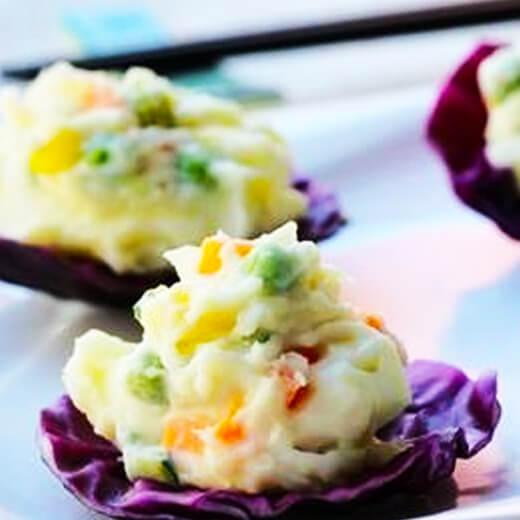 紫甘蓝土豆沙拉