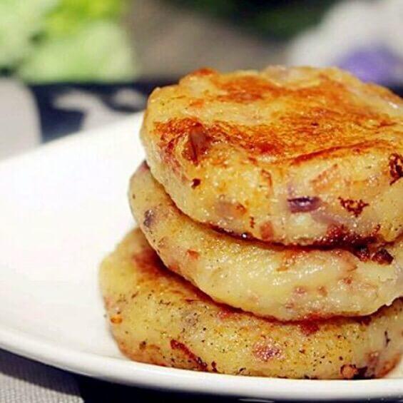 香葱培根小饼