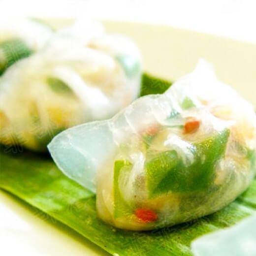 生菜猪肉饺子