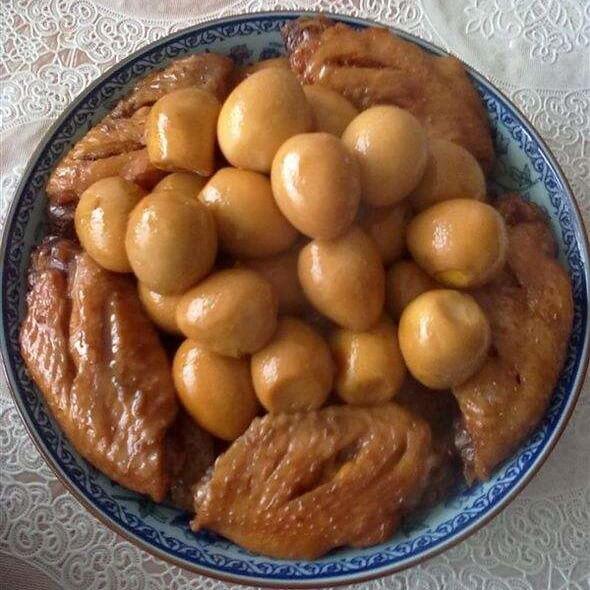 咖喱鸡翅鹌鹑蛋