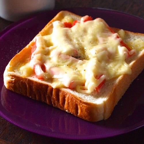 彩椒芝士面包