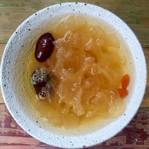银耳红豆糖水
