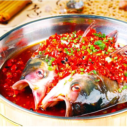 红辣椒烧鱼头